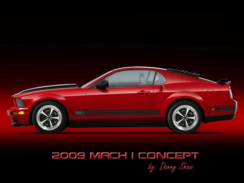 concept mustang