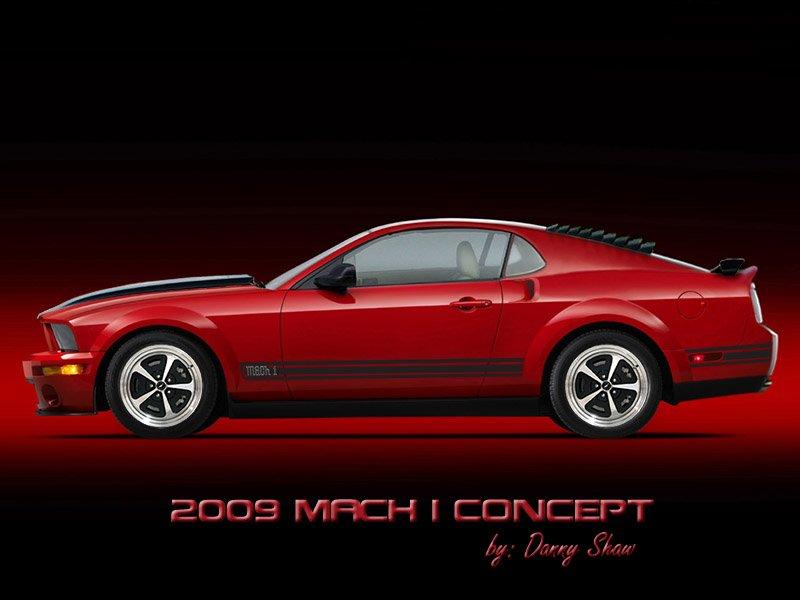 Slick Stang - 2009 Mustang Mach 1 Concept