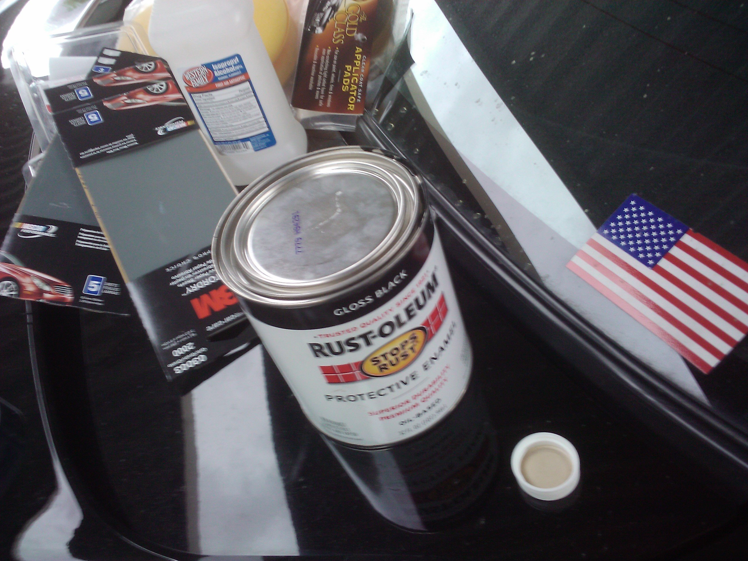 Rust-oleum $30.00 scratch fix... - Ford Mustang Forum