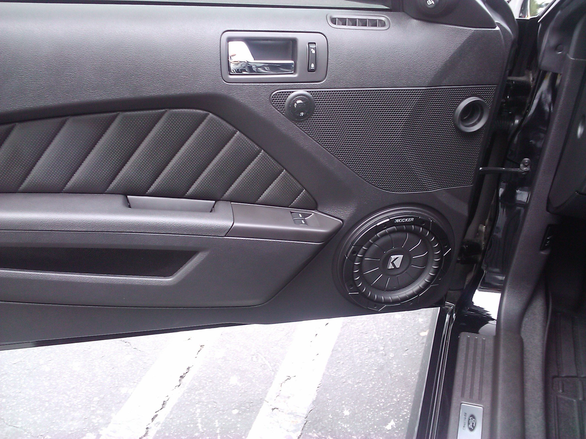 new pics gtgtgtnew audio setup ford mustang forum