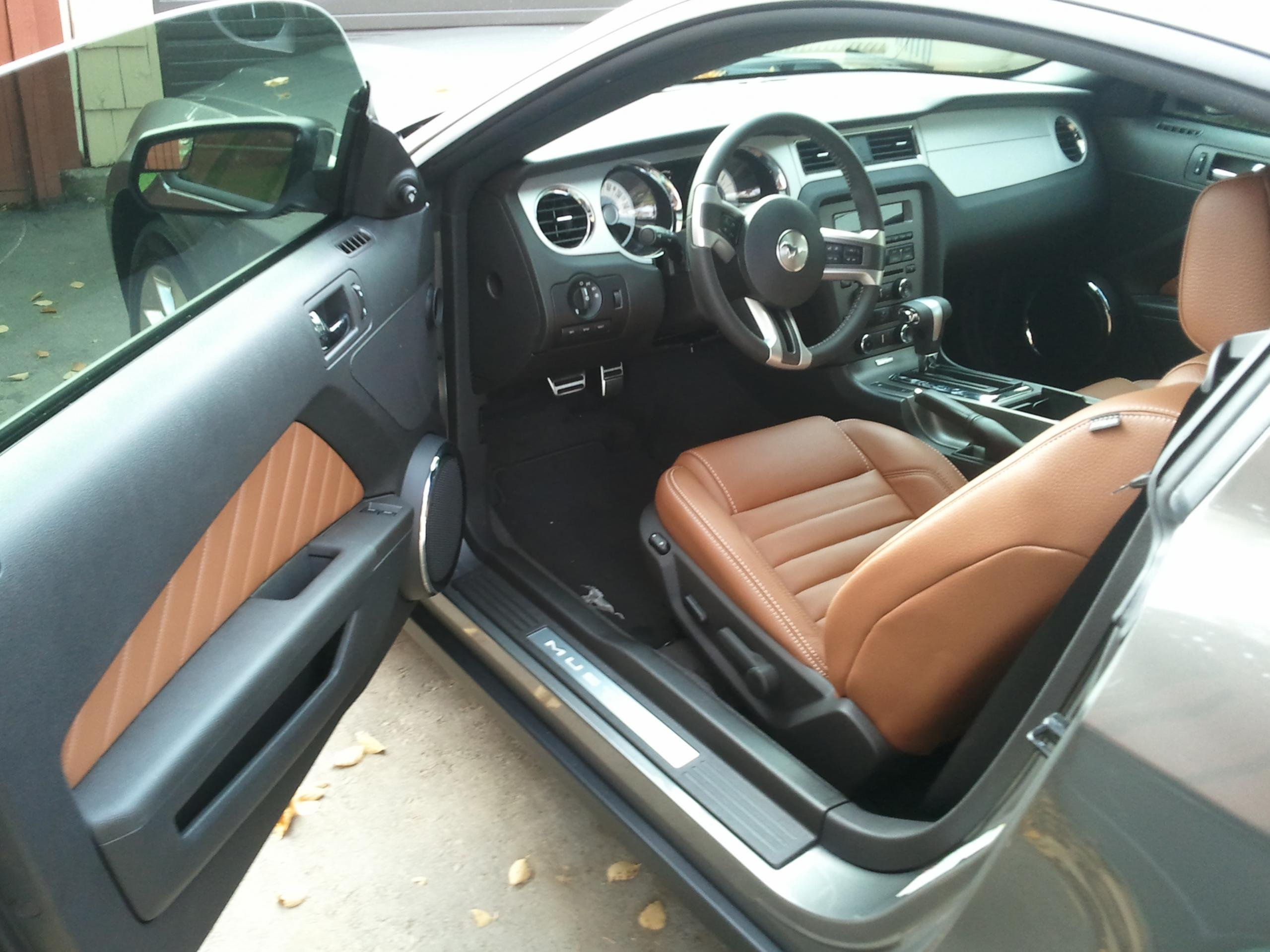 2011 Mustang Your Choice Of Leather Seats Page 6 Ford Mustang Forum