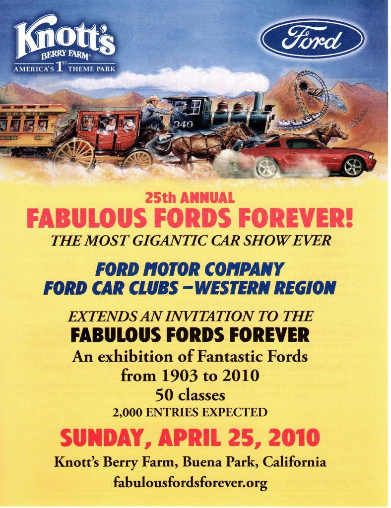 2010 fabulous fords forever car show in buena park ca on sunday april 25