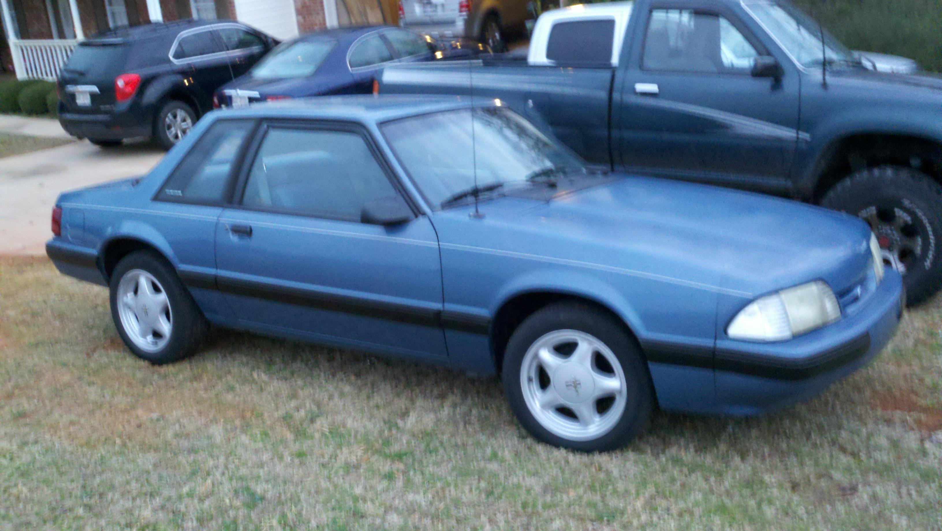 1989 Mustang LX Coupe 4R70W Swap  Ford Mustang Forum