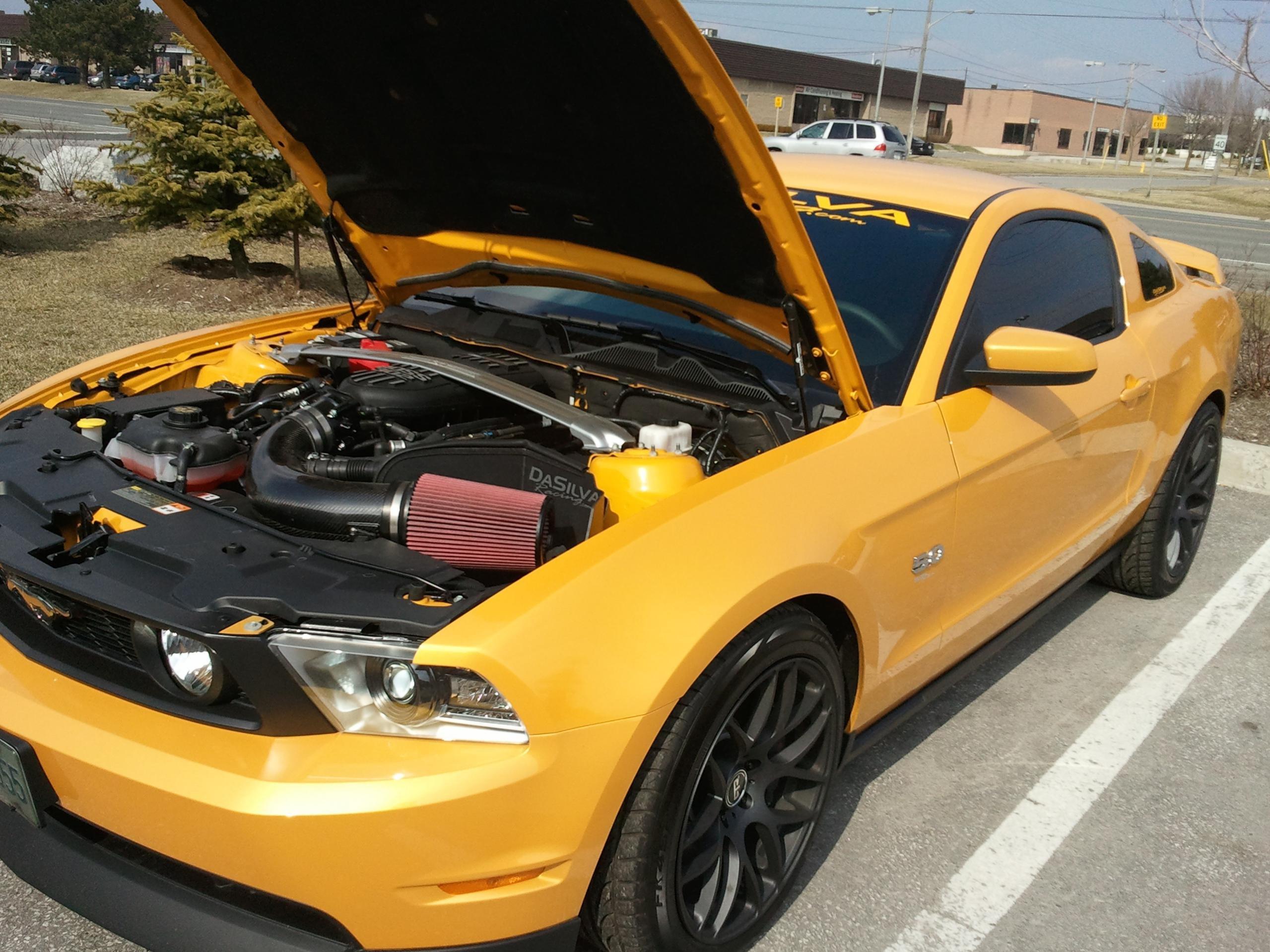 2012 Yellow Blaze Tri Coat Ford Mustang Forum
