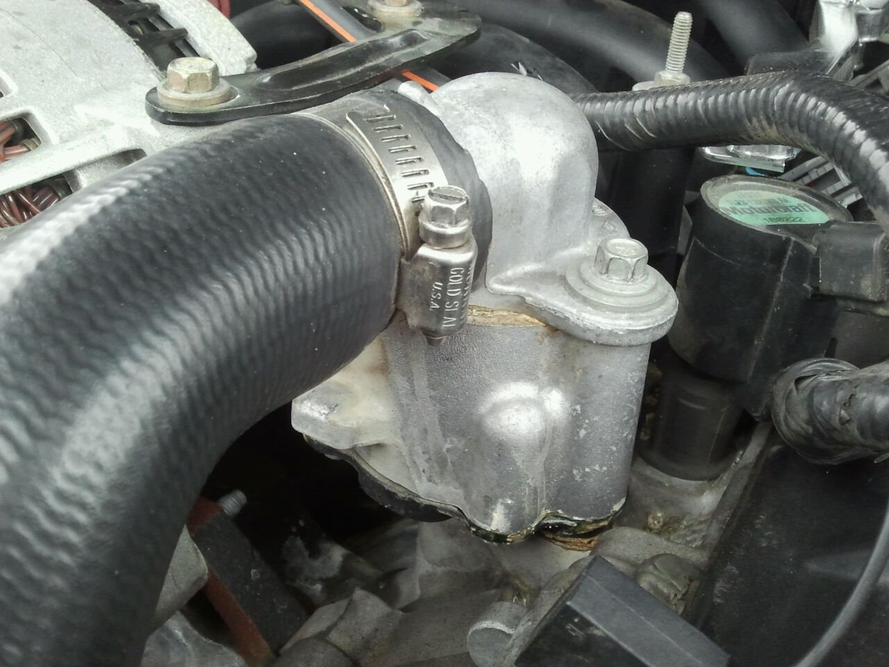 2001 Mustang Gt Anti-freeze Leaking Issues
