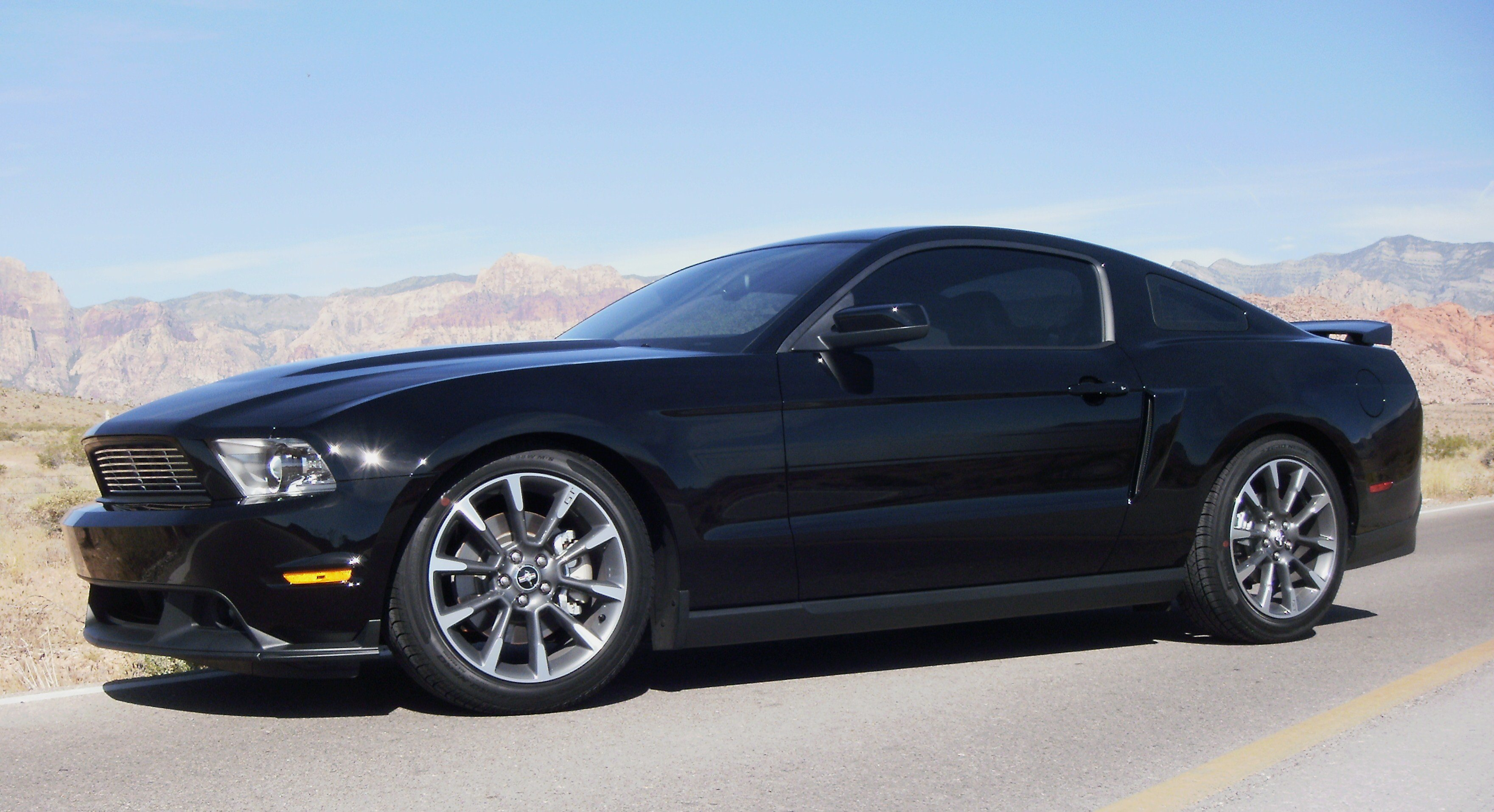 Pics Of The 2011 Mustang Gt Cs On Eibachs Ford Mustang Forum