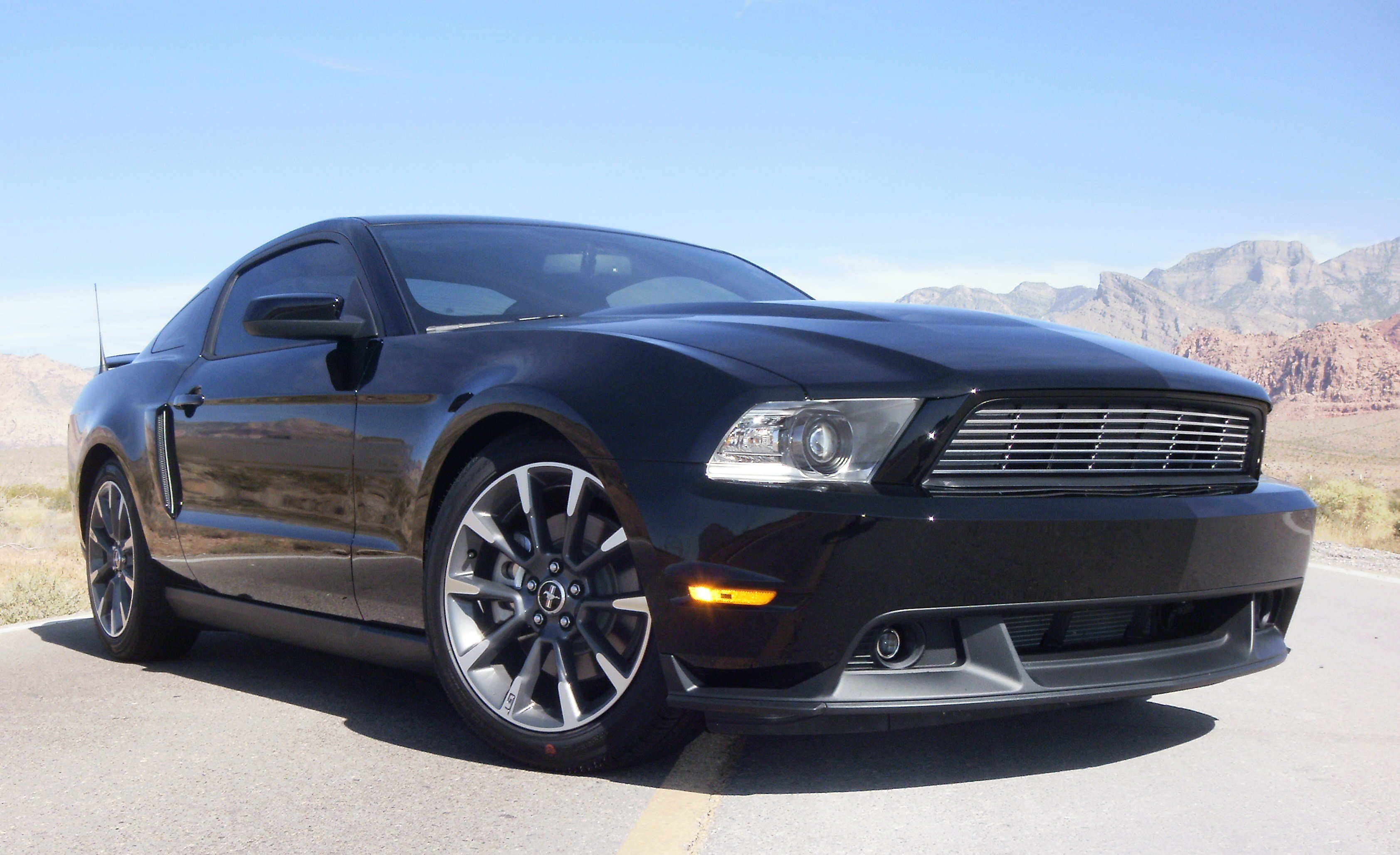 pics of the 2011 mustang gt cs on eibachs ford mustang forum. Black Bedroom Furniture Sets. Home Design Ideas