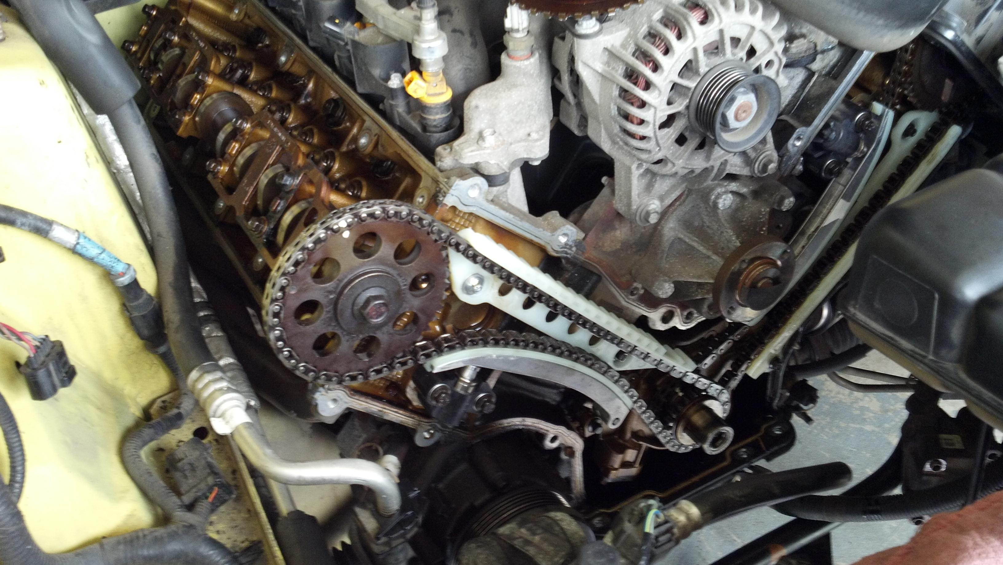 Forum Fix: Timing Chain Replacement - AllFordMustangs