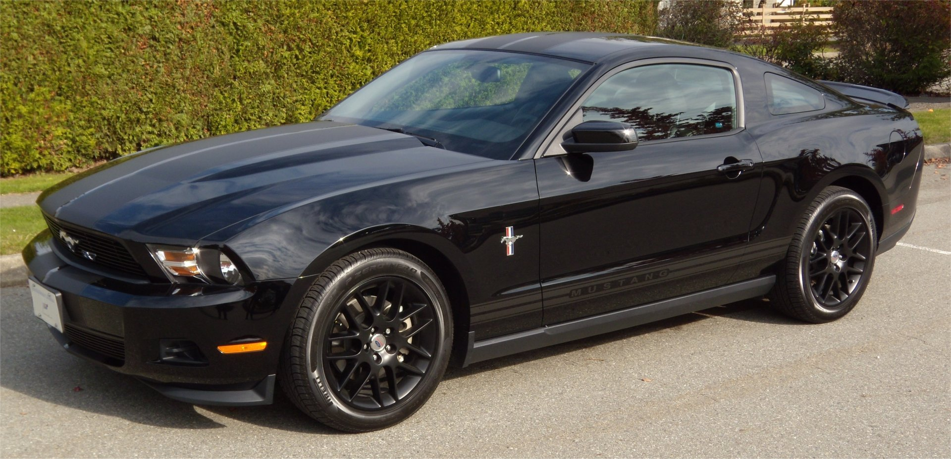 Any Blacked Out Mustangs Out There Page 3 Ford
