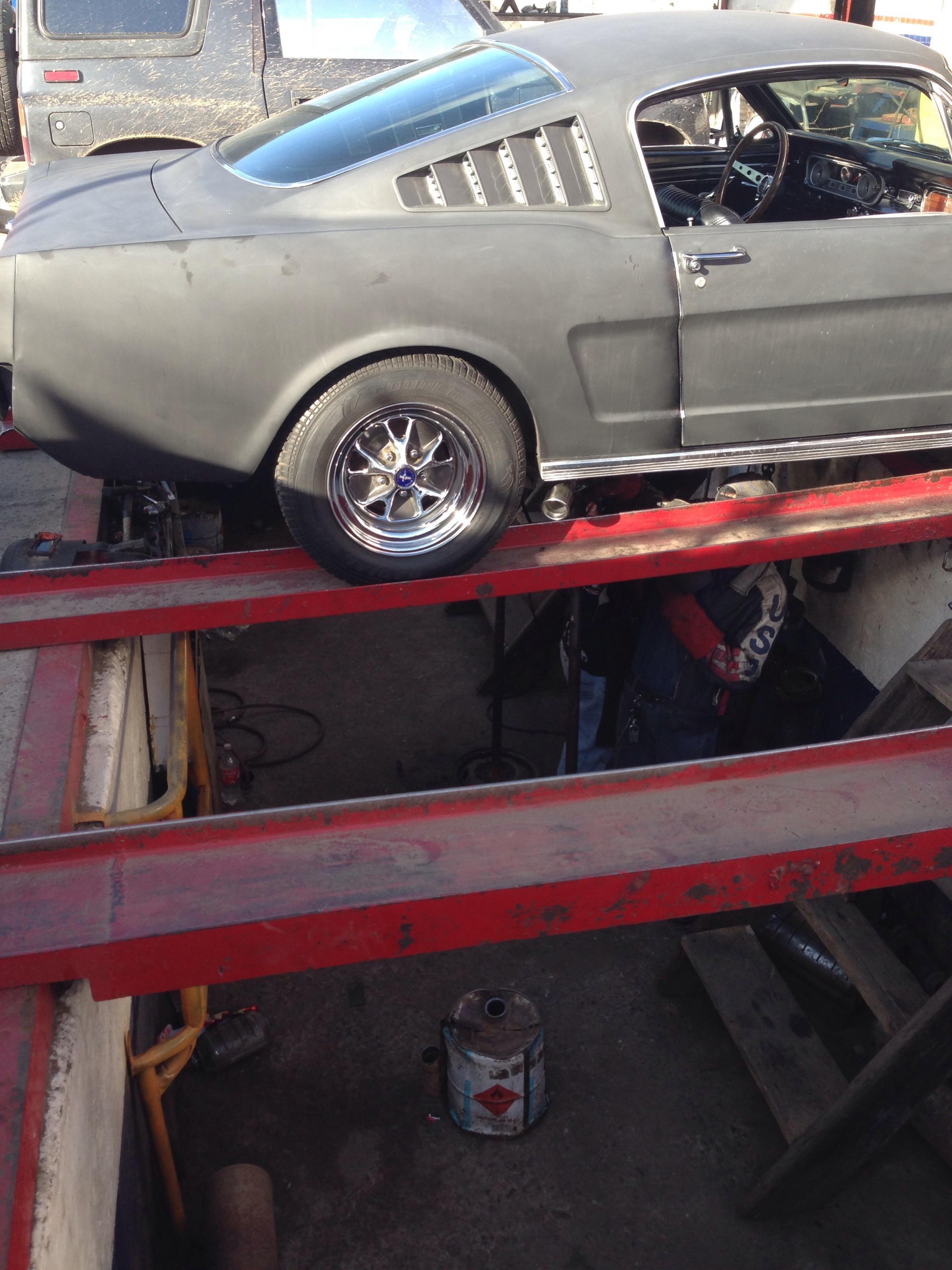 1965 Fastback Mini Tub Ford Mustang Forum