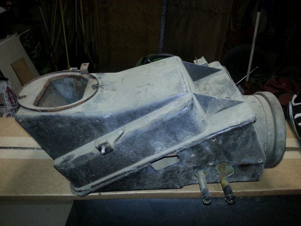 1967 Coupe A C Amp Heater Box Rebuild Help Needed Ford