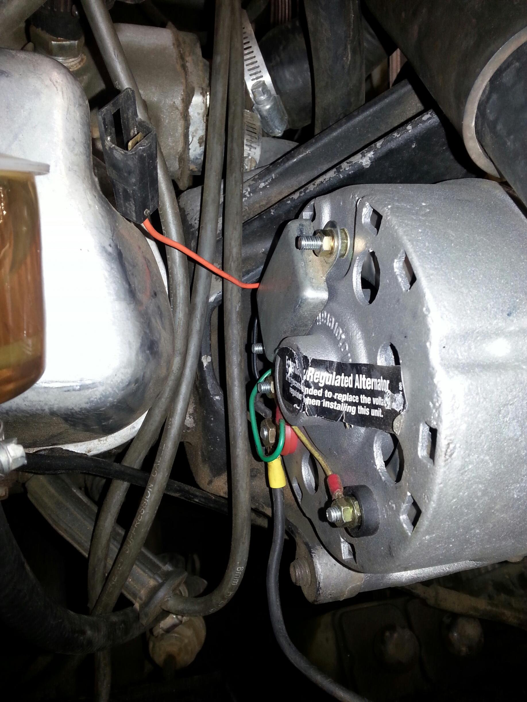 351w alternator wiring? | ford mustang forum  all ford mustangs