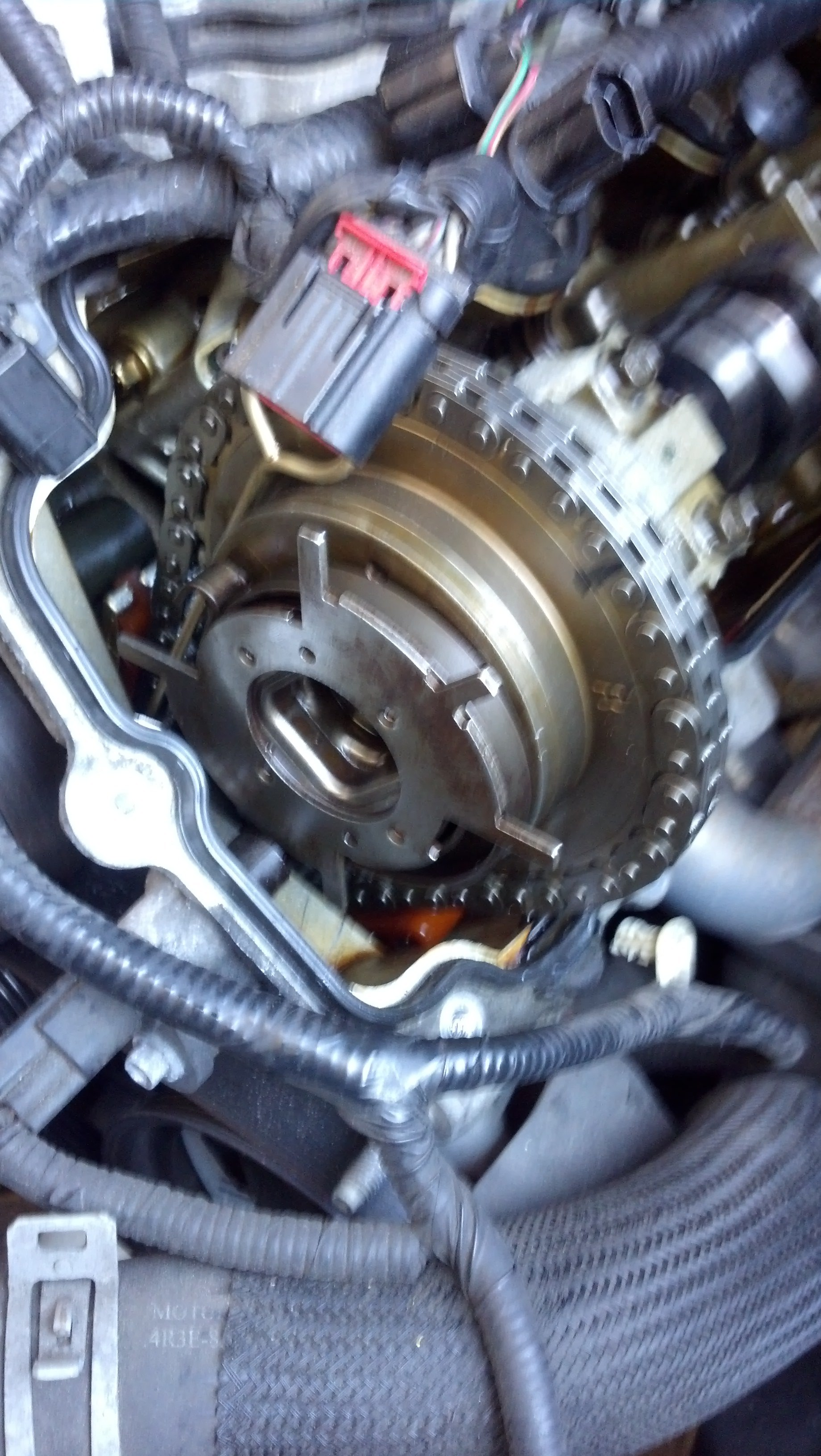 Upper Control Arm >> problem :camshaft cam phaser - Ford Mustang Forum