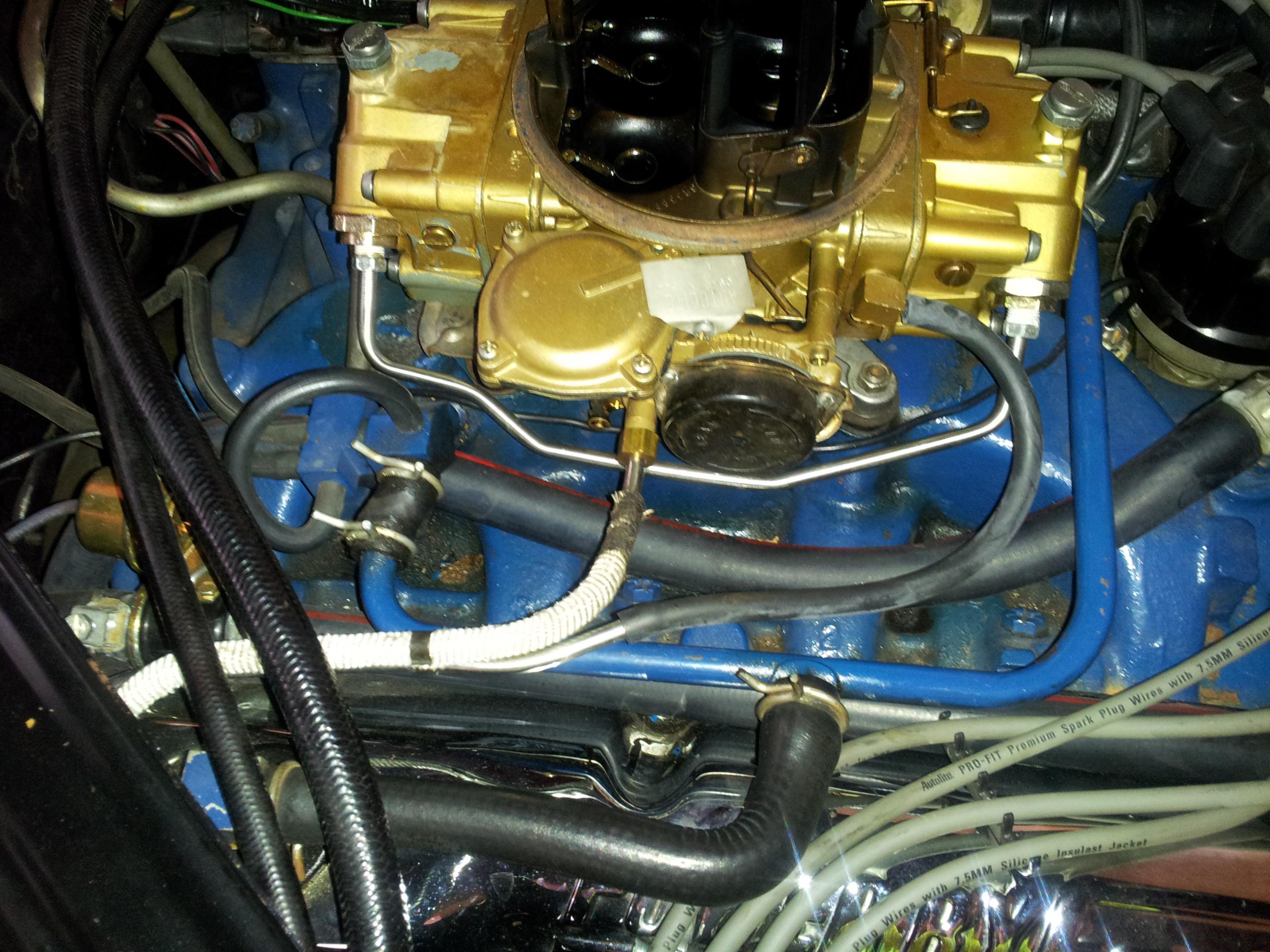 428 Cj Engine Run-on  Dieseling