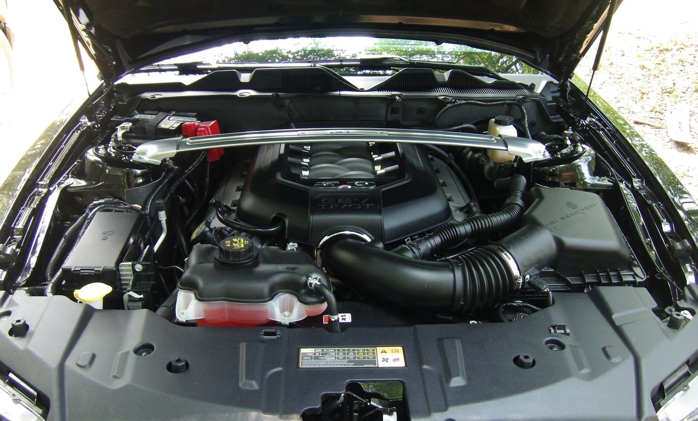 Click image for larger version name 2014 mustang gt engine bay