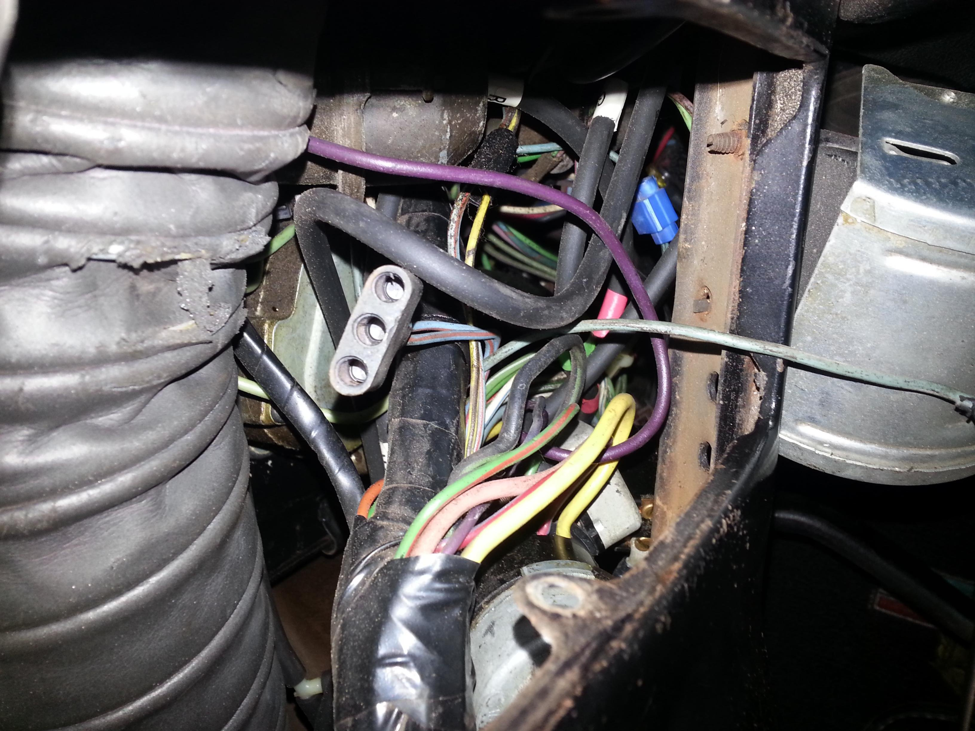 351082d1401405435 ways bypass resistor wire 20140529_190721 ways to bypass resistor wire? ford mustang forum External Resistor Coil Wiring at gsmx.co