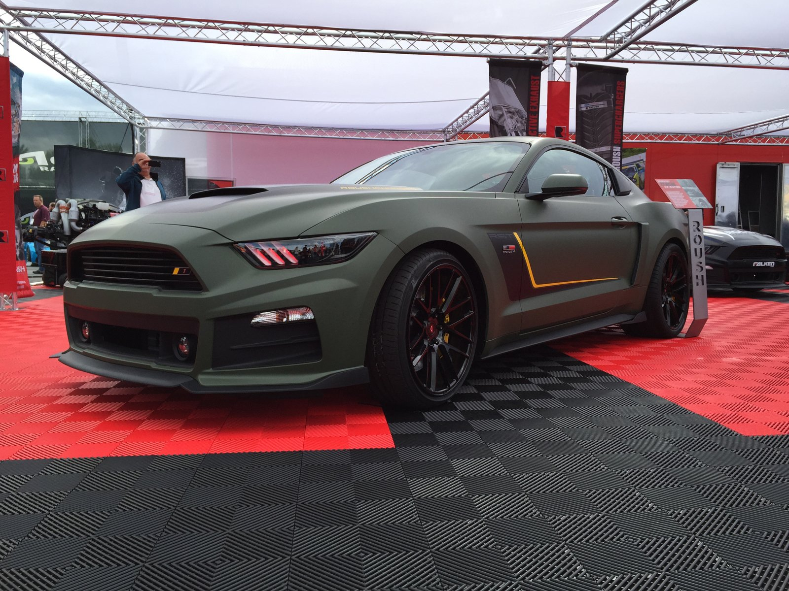 2016 Roush Stage 1 EcoBoost RST Mustang - AllFordMustangs