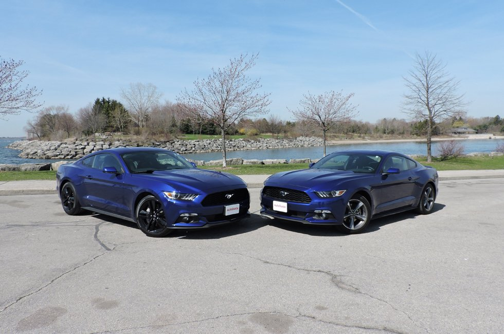 2015 Ford Mustang V6 vs Ford Mustang EcoBoost