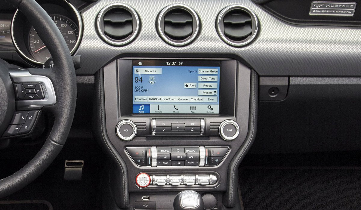 2016 ford mustang sync connect