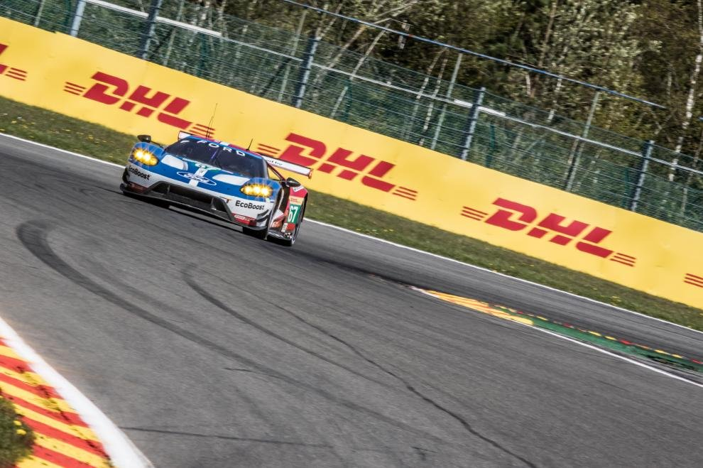 Ford GT Qualifies 4th and 5th for 6 Hours of Spa