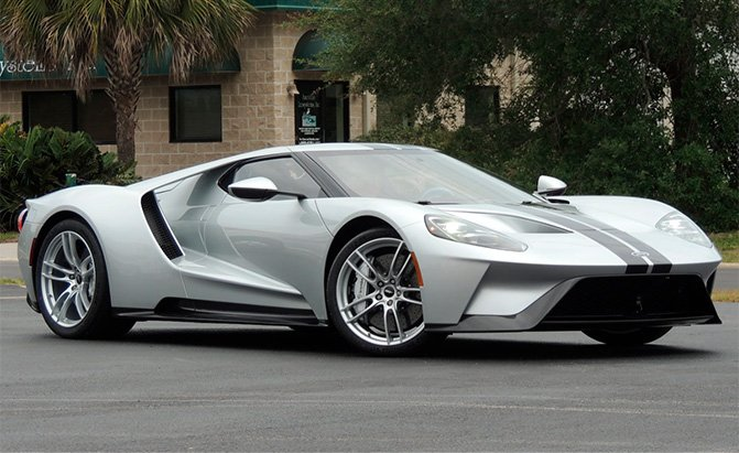 Here's a Rare Opportunity to Own a Practically Brand New Ford GT