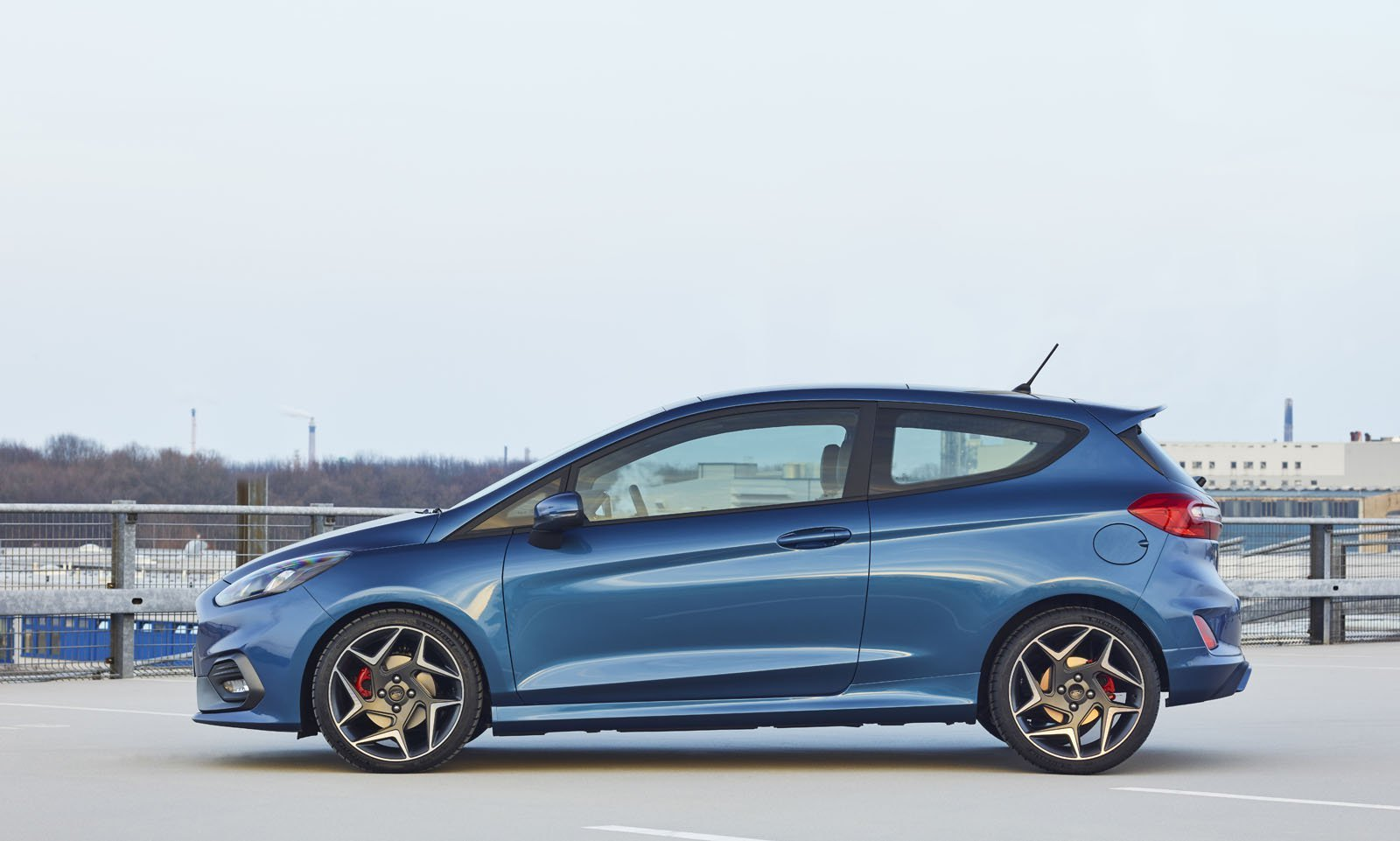 All-New Ford Fiesta ST Debuts With a Turbo Triple and Dope Rims
