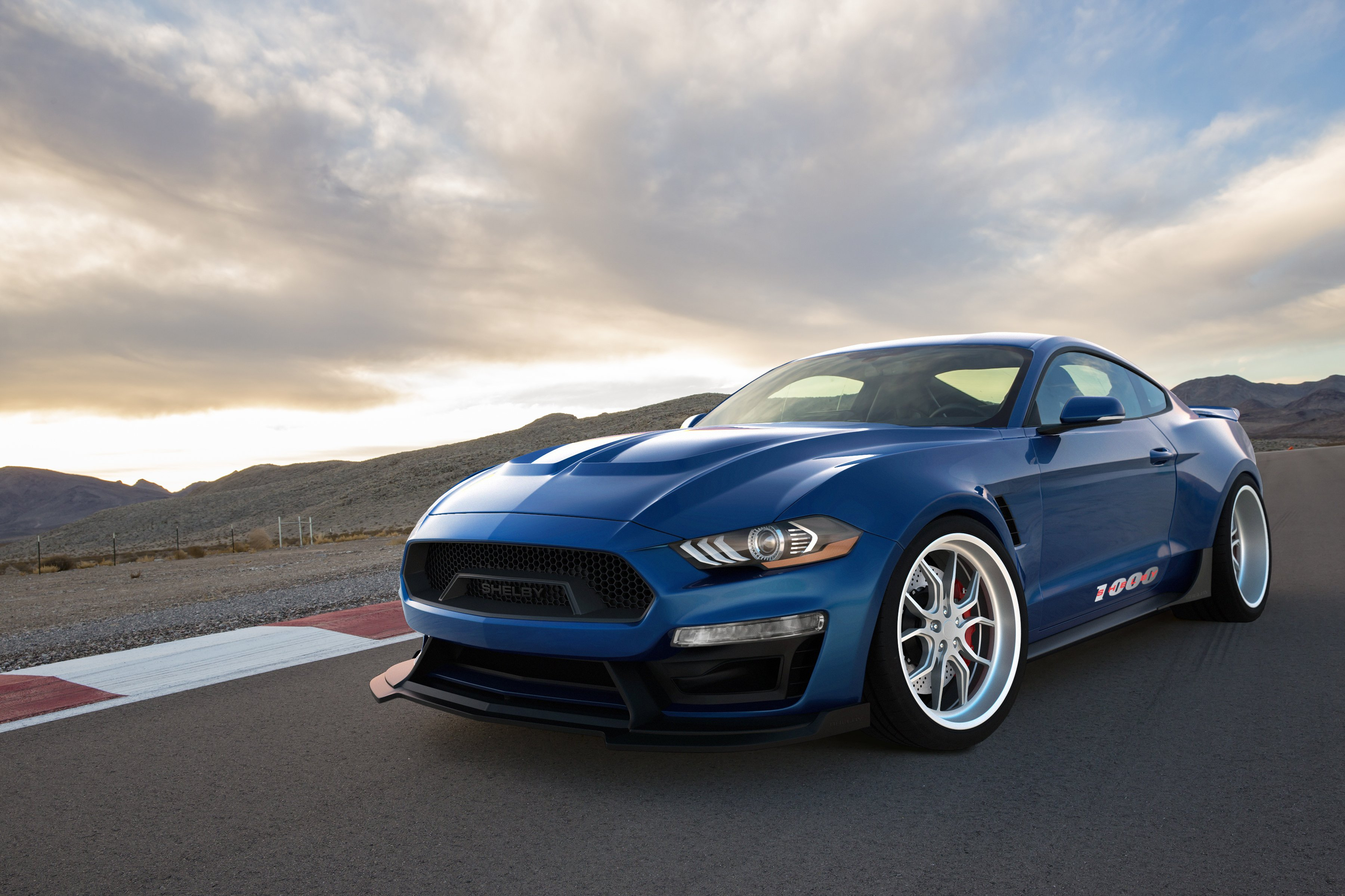 Shelby Brings Insanity And More To Sema 2017 Allfordmustangs