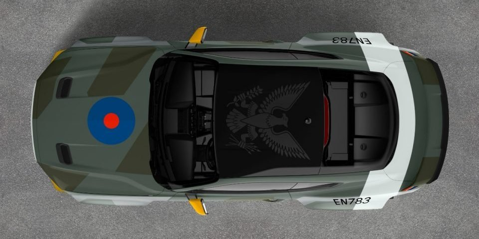 Ford, Vaughn Gitten Jr Make One-Off Fighter-Inspired Mustang for Charity