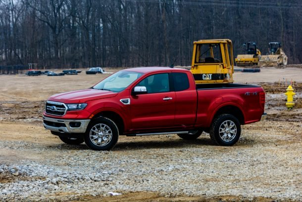 Flurry of Trademark Applications Points to Ford Ranger Trim Buffet