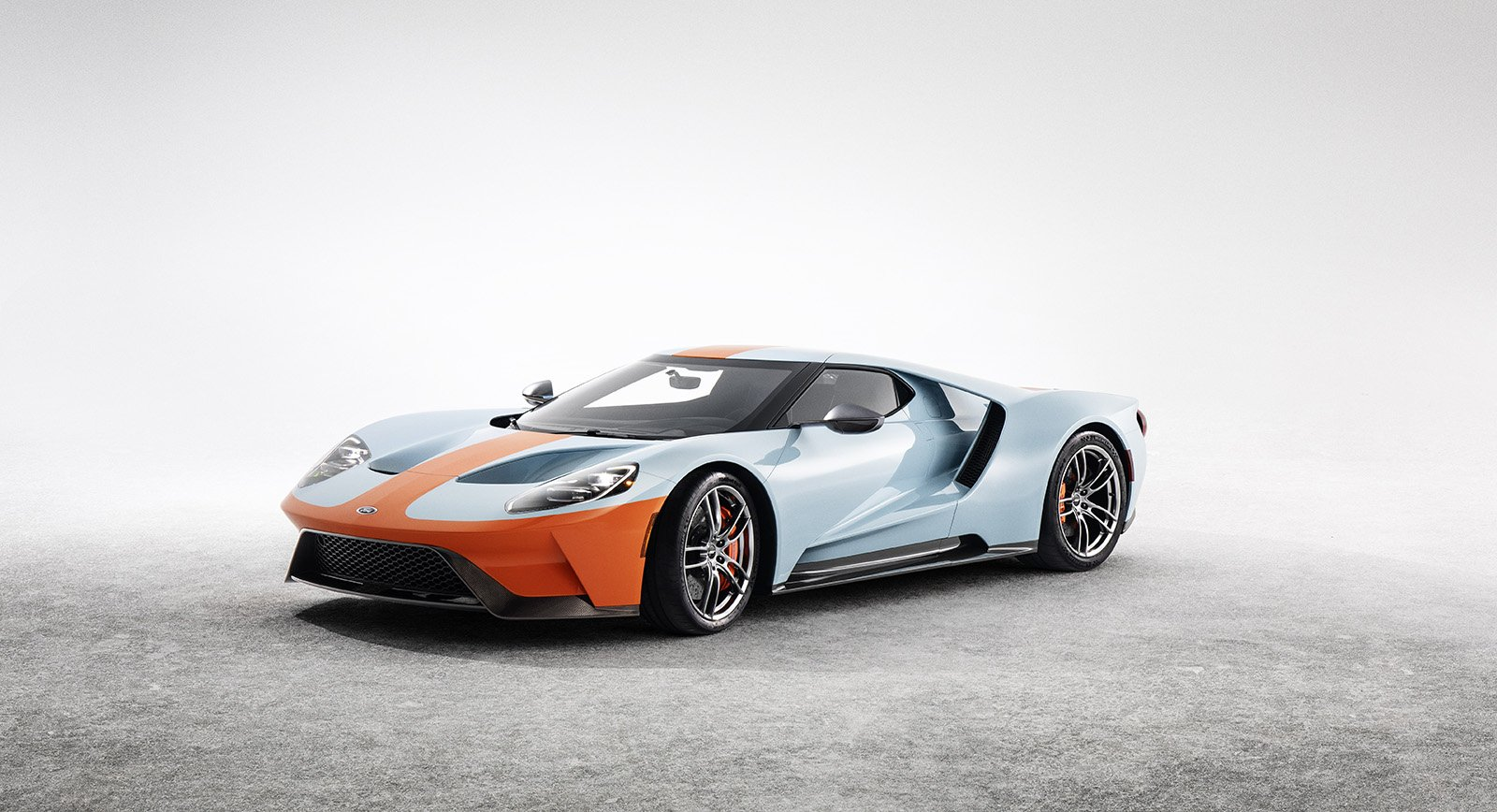 Ford Celebrates Le Mans Victory with Gulf Liveried Heritage Edition