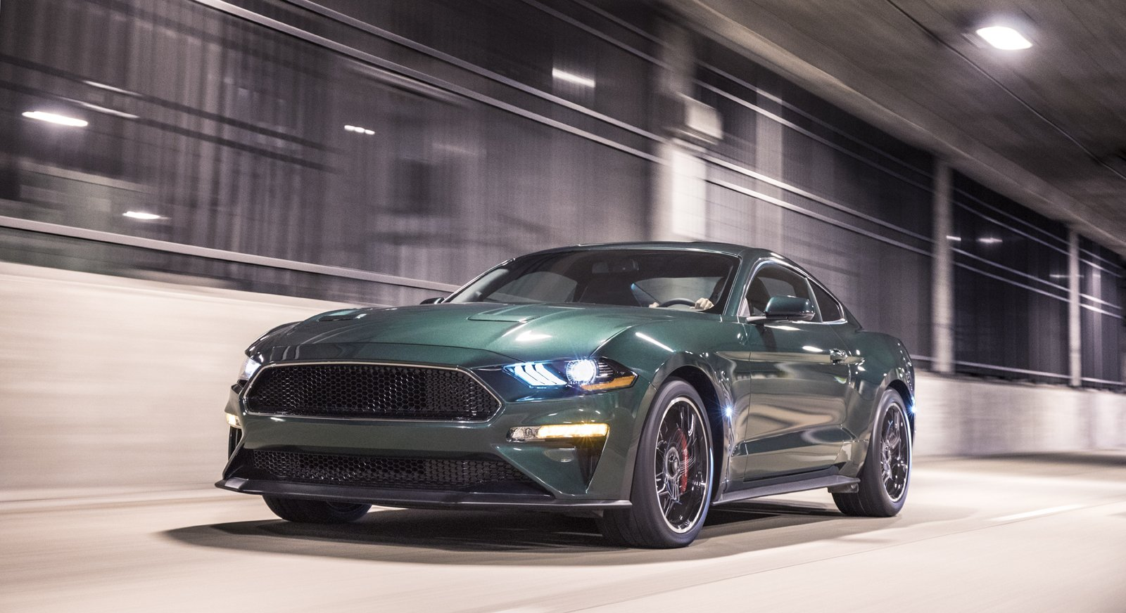 First Mustang Bullitt Brings Big Money at Barrett-Jackson