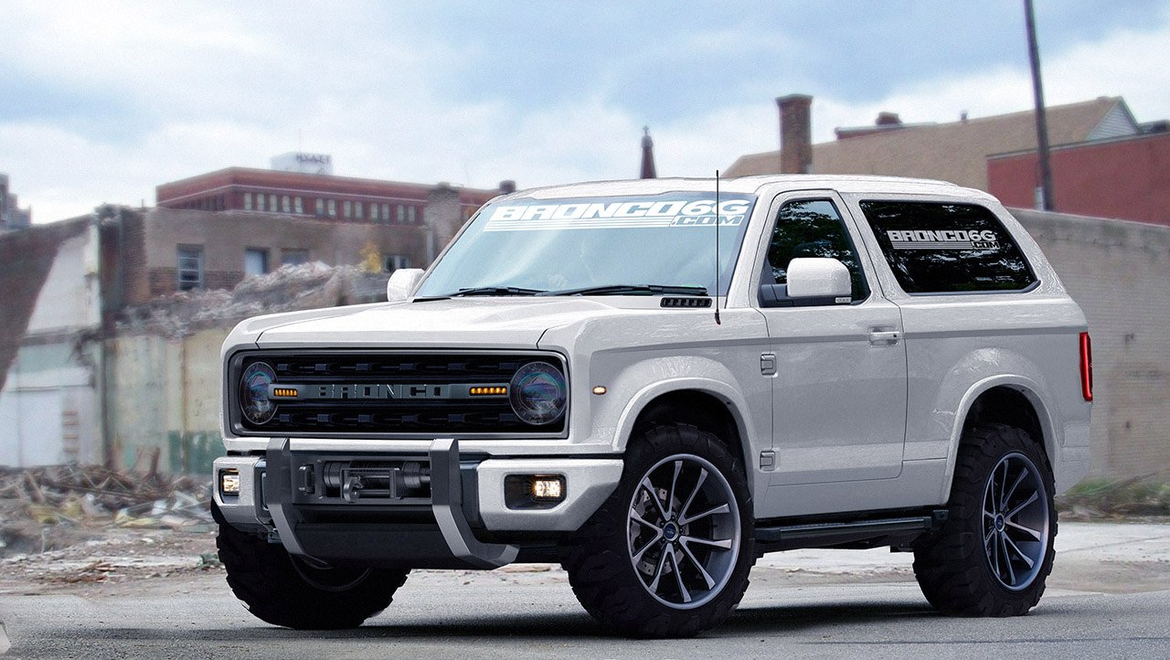 Check Out These Gorgeous 2020 Bronco Renders