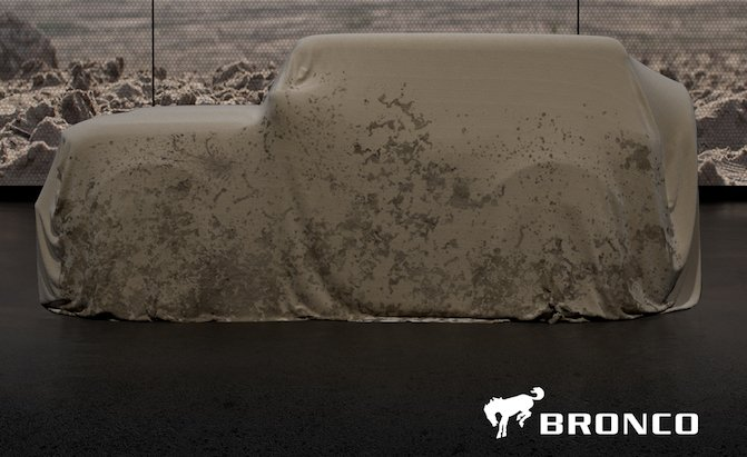 Seven-speed Manual for the New Bronco? Could Be