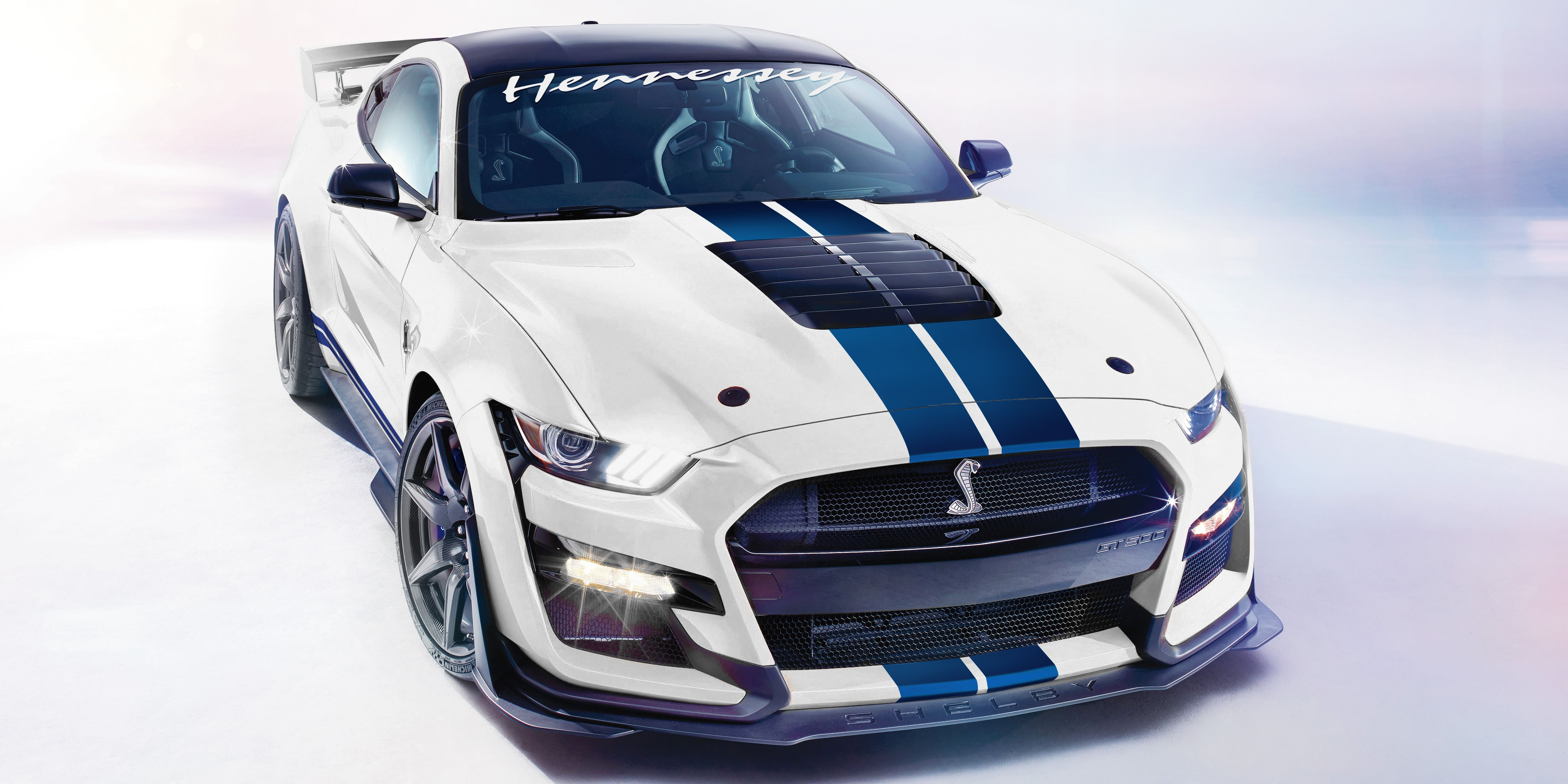 Hennessey Performance Announces 1,200 hp Shelby GT500s