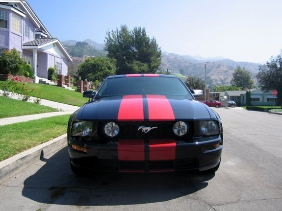 Silver Or Black Racing Stripes Page 2 Ford Mustang Forum