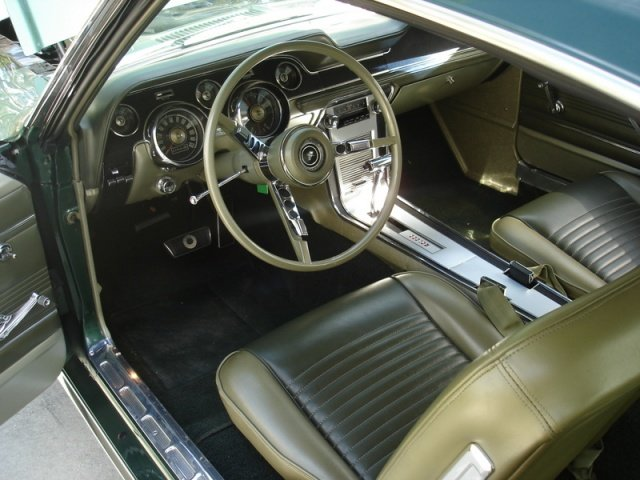 mustang interior colors fastback 1967 1968 ivy gold ford classic interiors cars google mustangs parchment project 67 lime thats correct