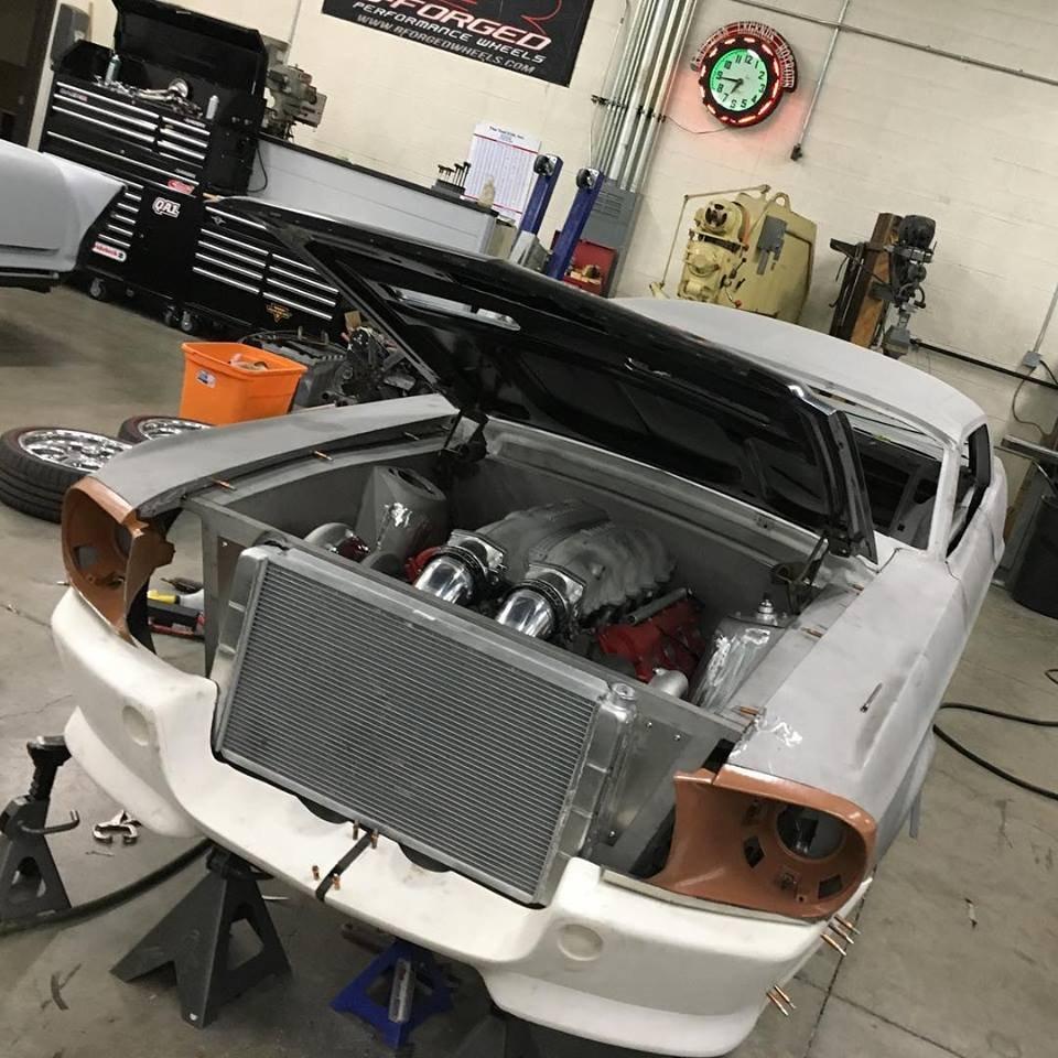 Ford Mustang GTO? Fordrarri? TestaFordsa? Ferrari-Engined '68 Mustang - AllFordMustangs