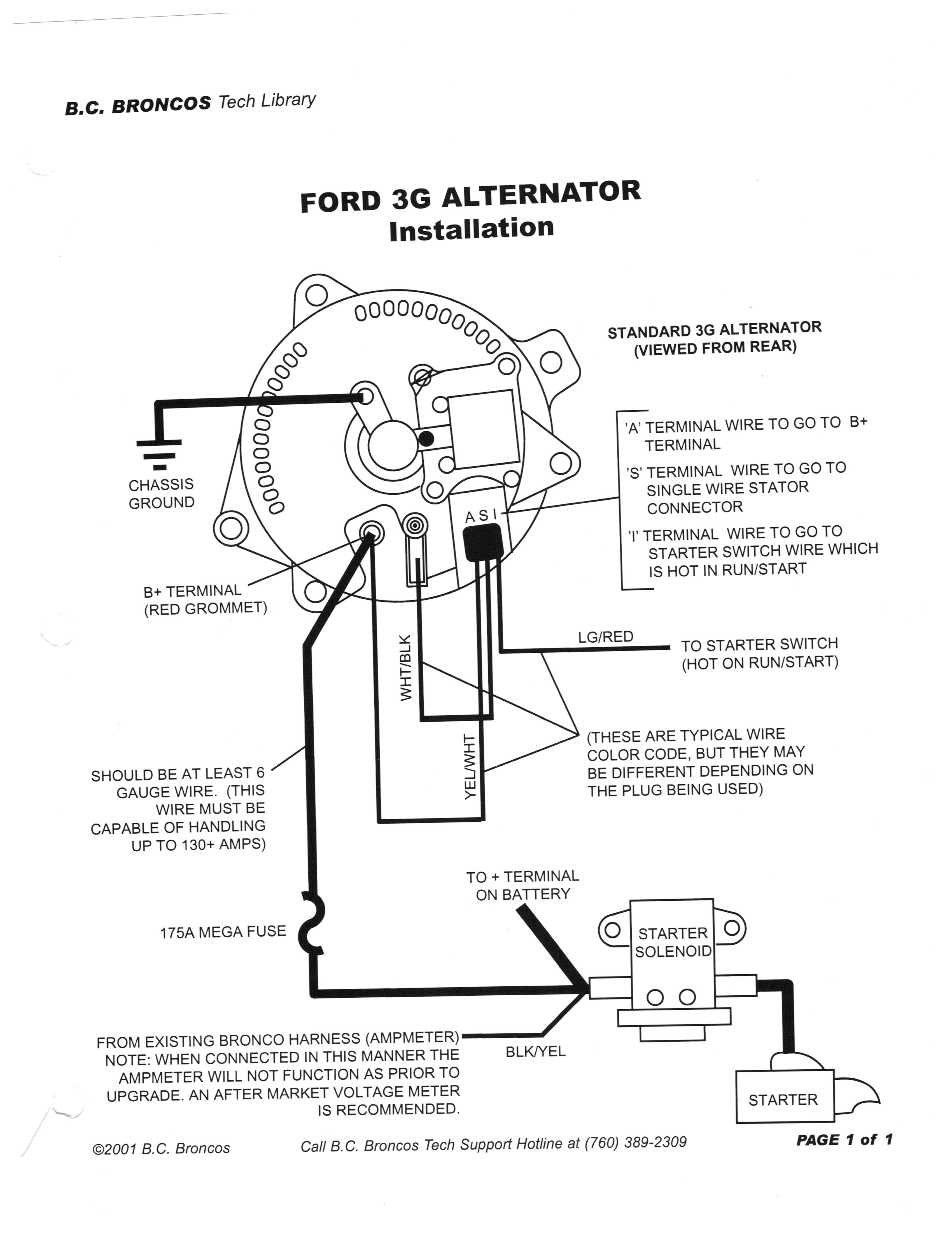 1994 F150 Wiring Diagram Battery And Alternator Library Ford F 150 1972 V8 3g Mustang Forum Ranger Click Image For Larger Version