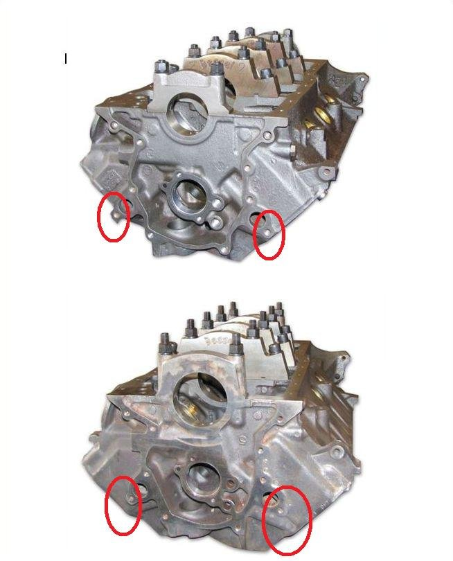 D How Tell Block W Block on Ford 302 Engine Block Casting Numbers