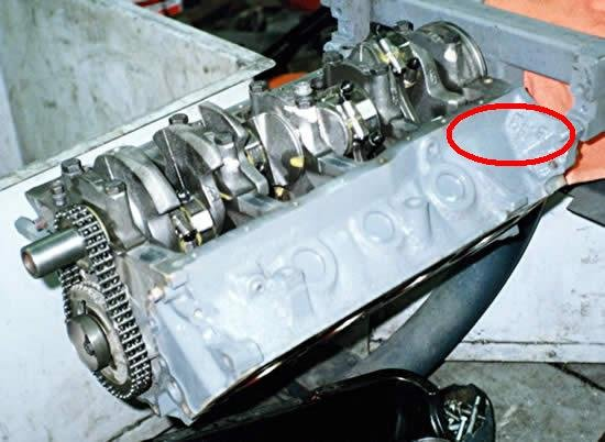 D Will H O Cam Work Block Block on Ford Engine Block Numbers Location