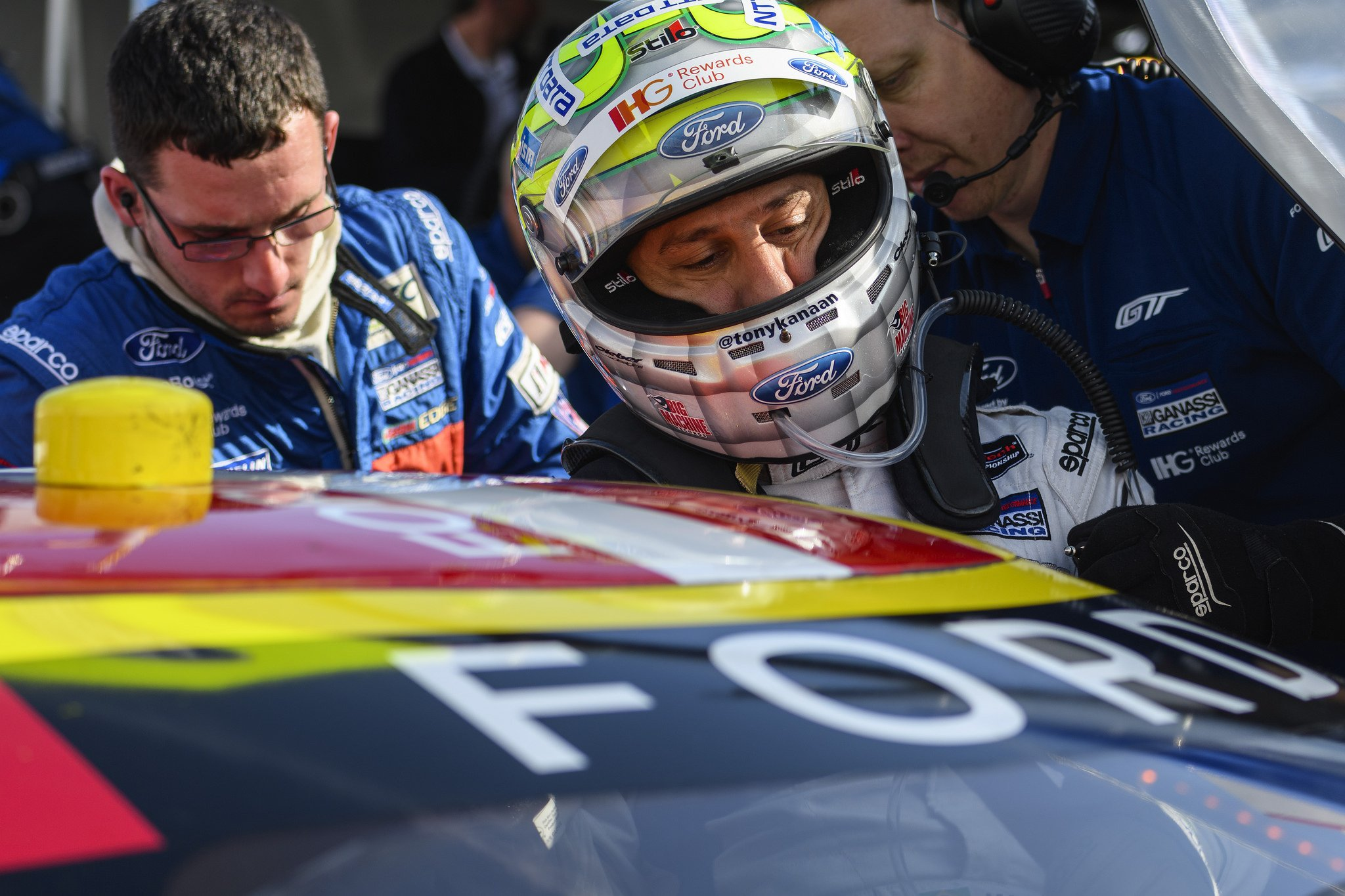 Tony Kanaan Gets His Chance at Le Mans in the No 68 Ford GT