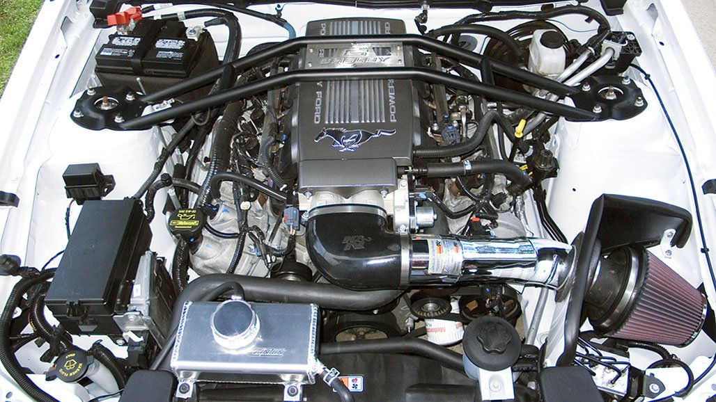 gt cold air mustang intake s197 performance ford