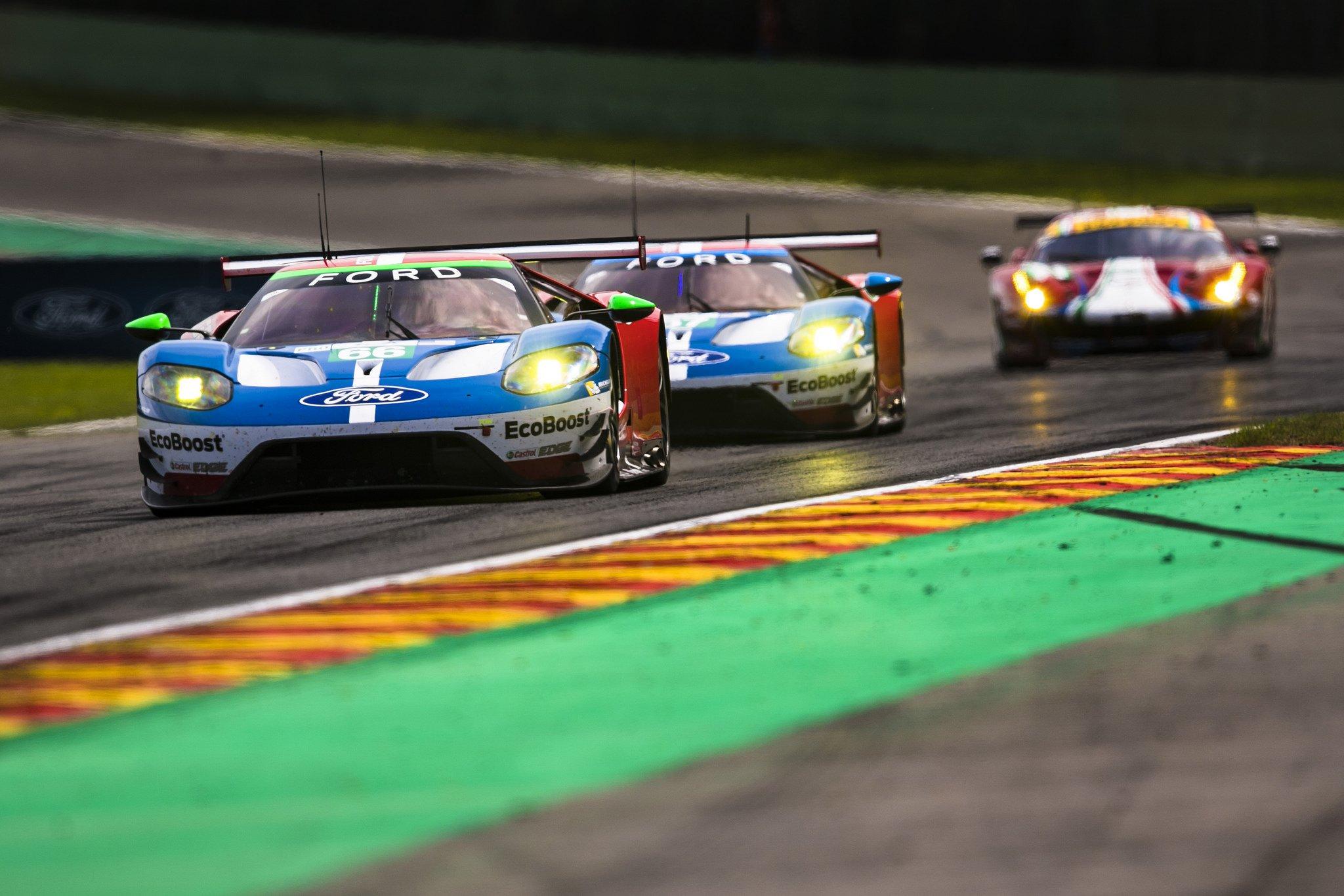 Relive the Ford vs Ferrari Slug Fest From Spa-Francorchamps