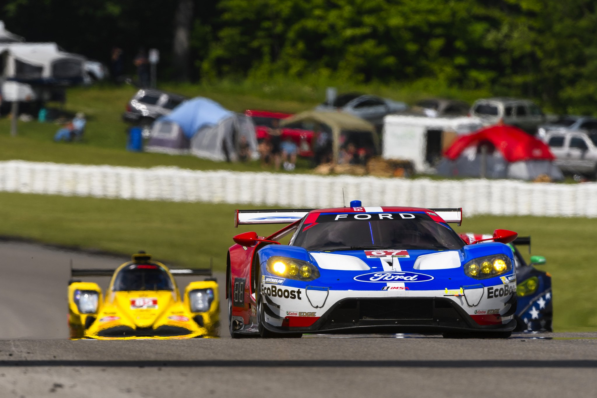 Ford GT Takes Third Place in Home Race
