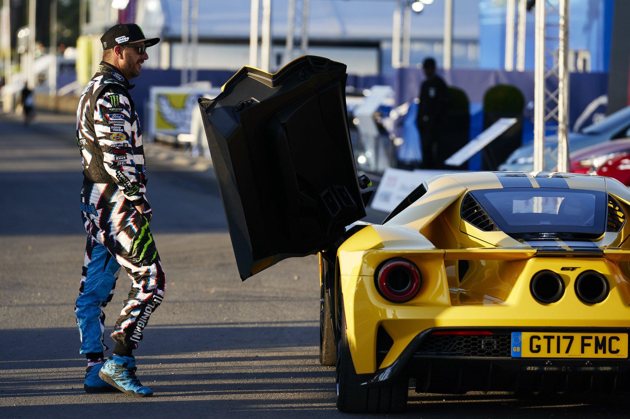 Ford Model B >> Ken Block Drives the GT at Le Mans - AllFordMustangs