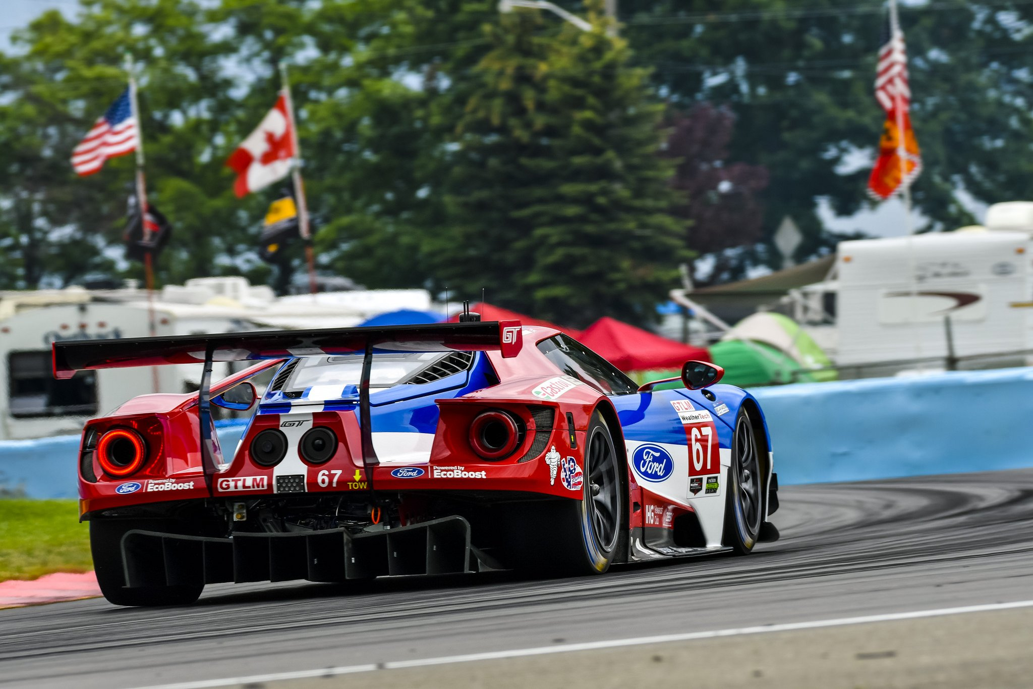 Ford GT Finishes Runner Up at Watkins Glen