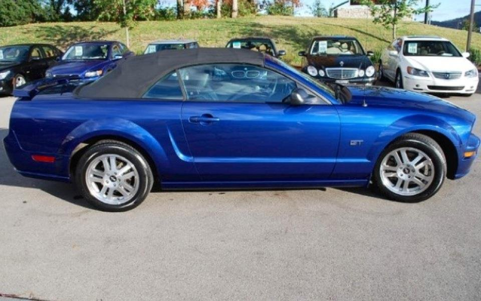 2006 Mustang Gt Convertible What Size After Market Wheel