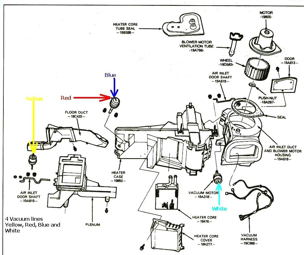 Heater Problems Ford Mustang Forum 1992 Camaro Fuse Relay Box Click Image For Larger Version Name 4 Vacuum Lines Views 5920 Size