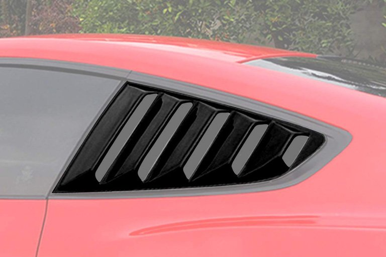 4wdmuscle gt 5 vents quarter side window scoop louvers
