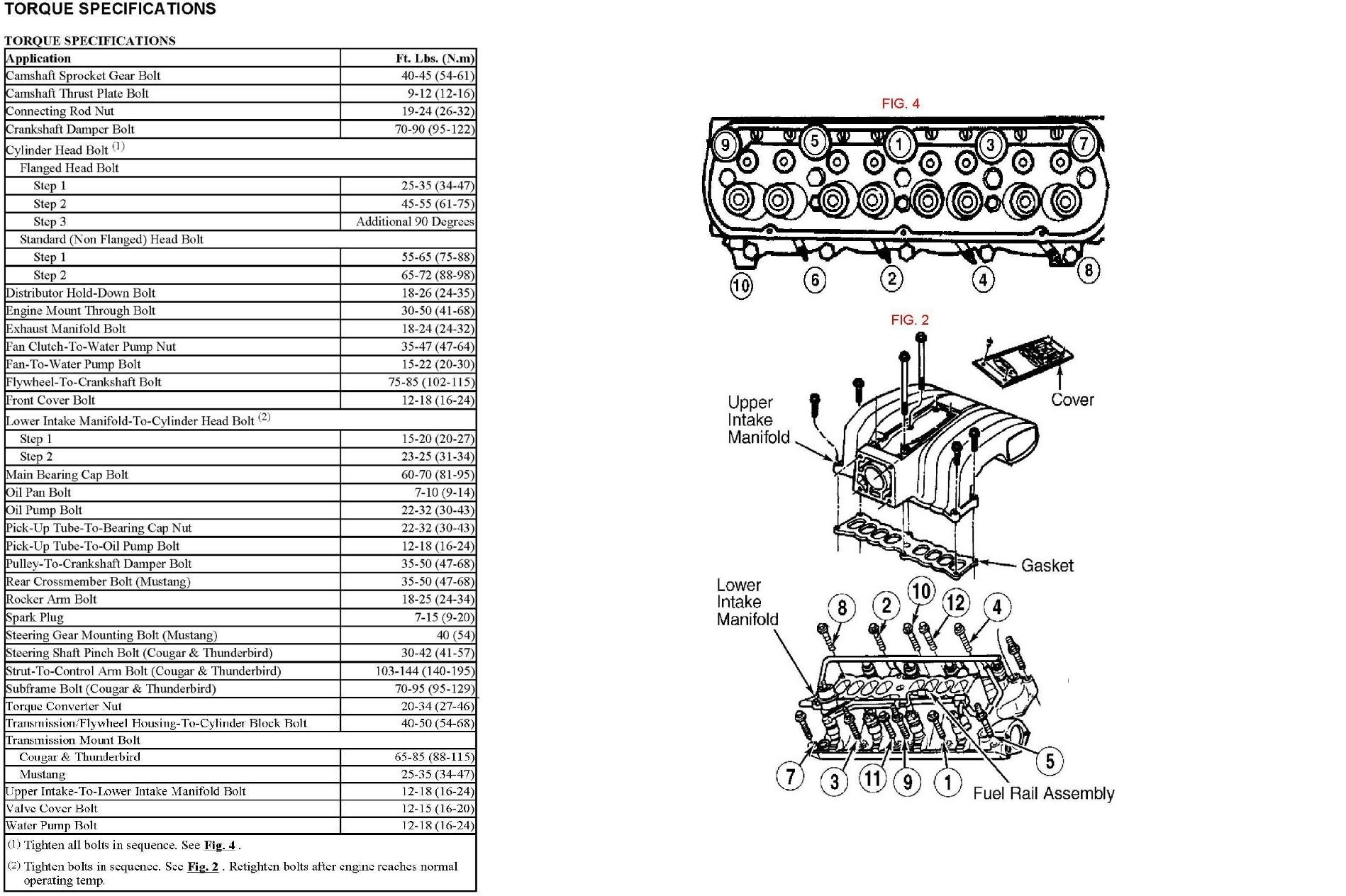 365334 Lower Intake Manifold Removal on 1994 Toyota Camry Motor Mount Diagram